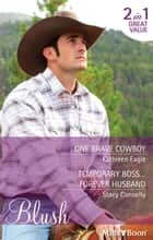 One Brave Cowboy/Temporary Boss...Forever Husband ebook by Kathleen Eagle, Stacy Connelly