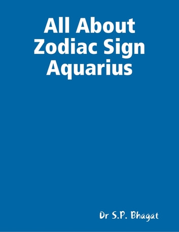 All About Zodiac Sign Aquarius