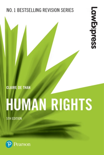 Law Express: Human Rights ebook by Claire De Than