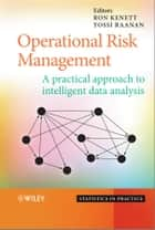 Operational Risk Management ebook by Yossi Raanan,Ron S. Kenett