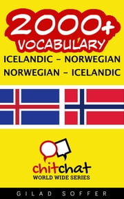 2000+ Vocabulary Icelandic - Norwegian ebook by Gilad Soffer