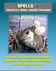 "Apollo and America's Moon Landing Program: Apollo 13 Official NASA Mission Reports and Press Kit - April 1970 Aborted Third Lunar Landing Attempt ""Successful Failure"" - Lovell, Haise, and Swigert"