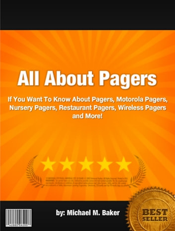 All About Pagers ebook by Michael M. Baker