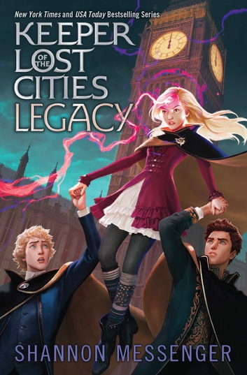 Legacy ebook by Shannon Messenger