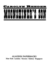 Moonshiner's Son ebook by Carolyn Reeder