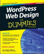 WordPress Web Design For Dummies ebook by Lisa Sabin-Wilson
