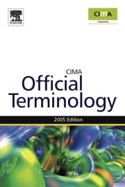 Management Accounting Official Terminology ebook by Eaton, Graham