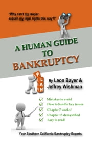 A Human Guide to Bankruptcy ebook by Leon Bayer