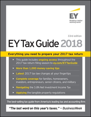 Ernst & Young Tax Guide 2018 ebook by Ernst & Young LLP