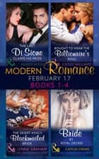 Modern Romance February Books 1-4 (Mills & Boon e-Book Collections) eBook by Maisey Yates, Cathy Williams, Lynne Graham,...