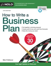 How to Write a Business Plan ebook by Mike McKeever
