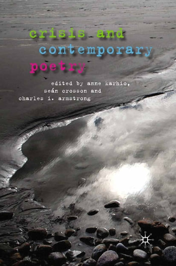 Crisis and Contemporary Poetry ebook by