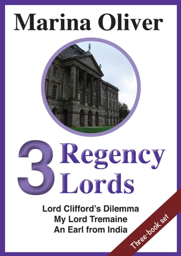 3 Regency Lords ebook by Marina Oliver