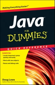 Java For Dummies Quick Reference ebook by Doug Lowe