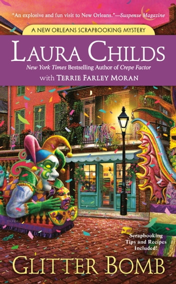 Glitter Bomb ebook by Laura Childs,Terrie Farley Moran