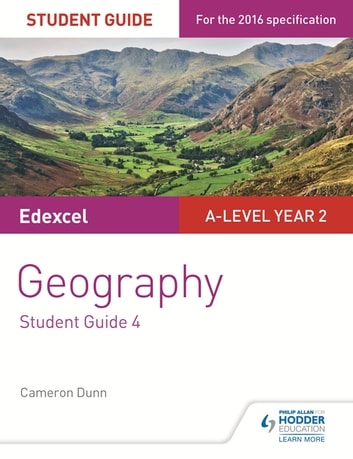 Edexcel AS/A-level Geography Student Guide 4: Geographical skills; Fieldwork; Synoptic skills ebook by Cameron Dunn,David Redfern