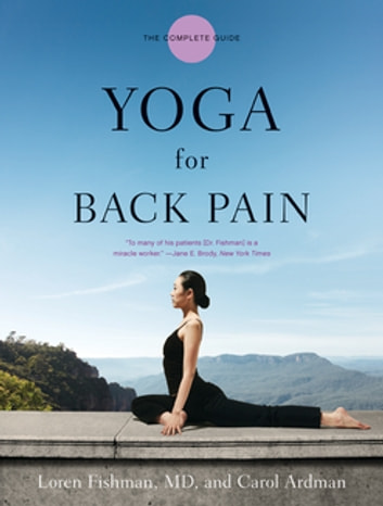 Yoga for Back Pain ebook by Carol Ardman,Loren Fishman, MD