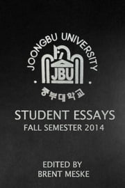 Joongbu Student Essays ebook by Joongbu University Press