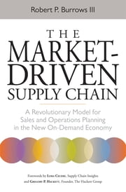 The Market-Driven Supply Chain - A Revolutionary Model for Sales and Operations Planning in the New On-Demand Economy ebook by Robert III, Lora CECERE, Gregory P. HACKETT