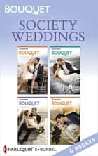 Society weddings (4-in-1) - Trouwen met de Italiaan ; Trouwen met de Griek ; Trouwen met de Siciliaan ; Trouwen met de sjeik ebook by Jennifer Hayward, Michelle Smart, Tara Pammi,...