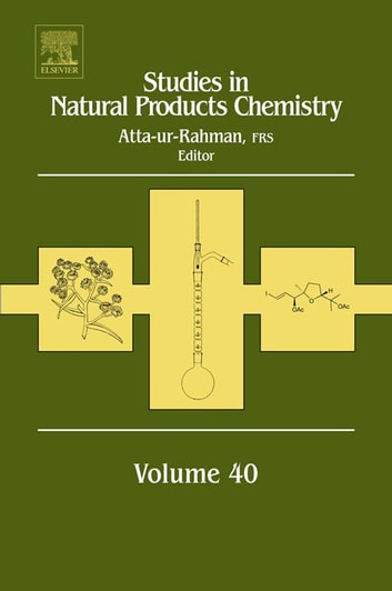 Studies in Natural Products Chemistry ebook by Atta-ur- Rahman