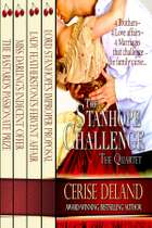 The Stanhope Challenge - Regency Quartet - Four Regency Romances ebooks by Cerise Deland