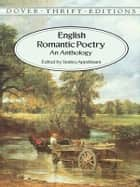 English Romantic Poetry ebook by Stanley Appelbaum