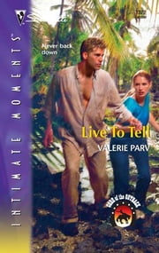 Live to Tell ebook by Valerie Parv