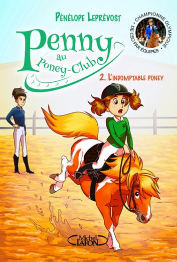 Penny au poney-club - tome 2 L'indomptable poney ebook by Penelope Leprevost