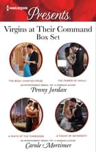 Virgins At Their Command Bundle - 4 Book Box Set ebook by Penny Jordan, Carole Mortimer