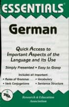 German Essentials ebook by Linda Thomas