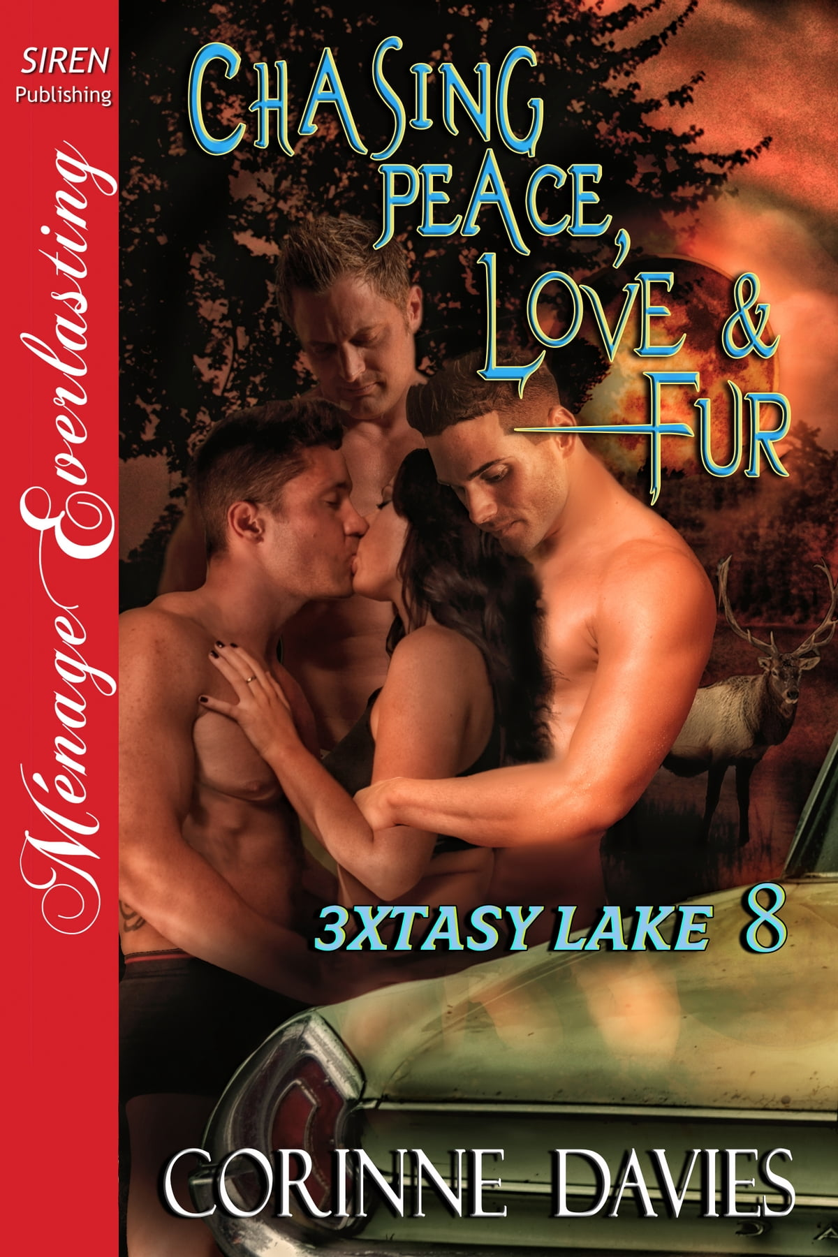 Obsessed with Fur [3xtasy Lake 4] (Siren Publishing Menage Everlasting)