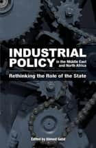 Industrial Policy in the Middle East and North Africa - Rethinking the Role of the State ebook by Ahmed Galal