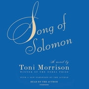 Song of Solomon audiobook by Toni Morrison