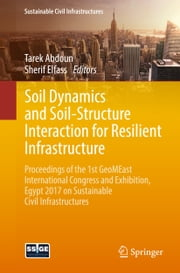 Soil Dynamics and Soil-Structure Interaction for Resilient Infrastructure - Proceedings of the 1st GeoMEast International Congress and Exhibition, Egypt 2017 on Sustainable Civil Infrastructures ebook by Tarek Abdoun, Sherif Elfass