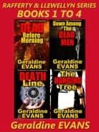 RAFFERTY & LLEWELLYN SERIES BOXED SET BOOKS 1 to 4 - British Detective Series e-kirjat by Geraldine Evans