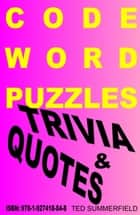 Code Word Puzzles ebook by Ted Summerfield