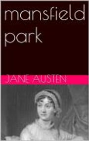 mansfield park eBook by Austen Jane