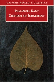 Critique of Judgement ebook by Immanuel Kant,Nicholas Walker,James Creed Meredith