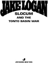 Slocum 335 - Slocum and the Tonto Basin War ebook by Jake Logan