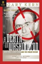 A Death in Washington ebook by Gary Kern
