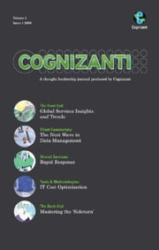 Cognizanti Journal - Issue 3 - Business and technology thought leadership from Cognizant ebook by Alan Alper,Bruce Rogow,Tejomoy Das,Vineet Kapur,Akash Jain