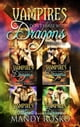 Vampires Don't Share With Dragons 4 in 1 - Vampires Don't Share With Dragons ebook by Mandy Rosko