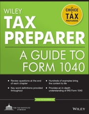 Wiley Tax Preparer - A Guide to Form 1040 ebook by The Tax Institute at H&R Block