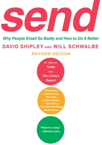 Send Revised Edition Ebook By David ShipleyWill Schwalbe