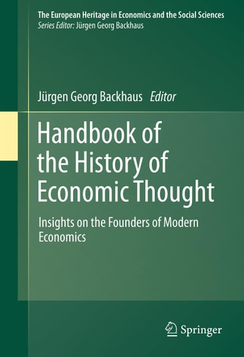 History Of Economic Thought Ebook