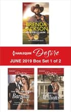 Harlequin Desire June 2019 - Box Set 1 of 2 ebook by Brenda Jackson, Naima Simone, Andrea Laurence