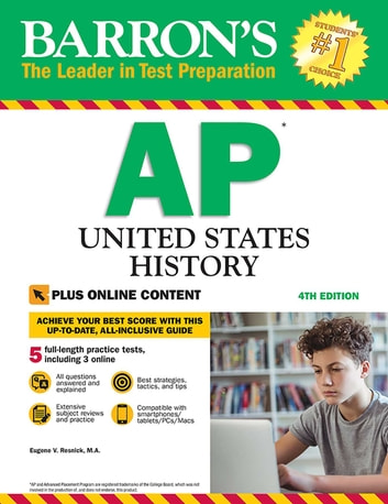 AP United States History with Online Tests ebook by Eugene V. Resnick M.A.