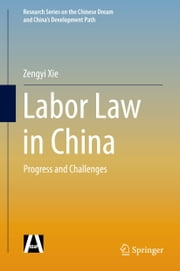 Labor Law in China - Progress and Challenges ebook by Zengyi Xie