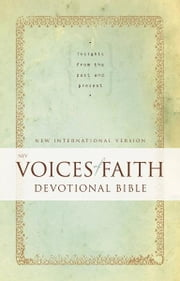 NIV, Voices of Faith Devotional Bible, eBook - Insights from the Past and Present ebook by Zondervan